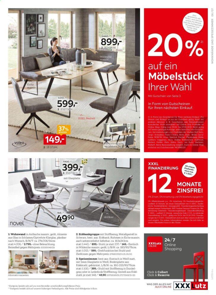 Medium Size of Xxxlutz Angebote 2942019 752019 Wohnzimmer Eckbankgruppe Mömax