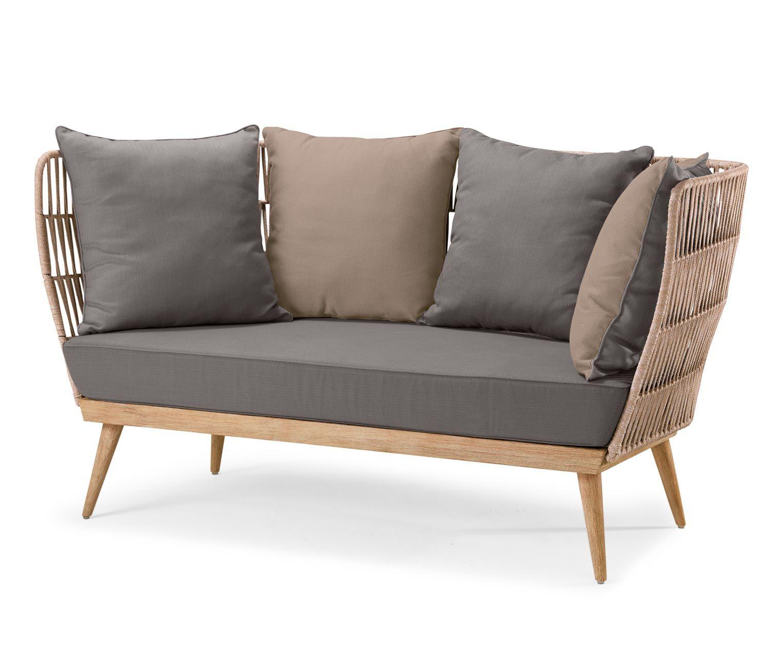 Full Size of Gartensofa Tchibo 2 In 1 Komfort Lounge Sofa Premium Mit Textilgeflecht Garten Wohnzimmer Gartensofa Tchibo