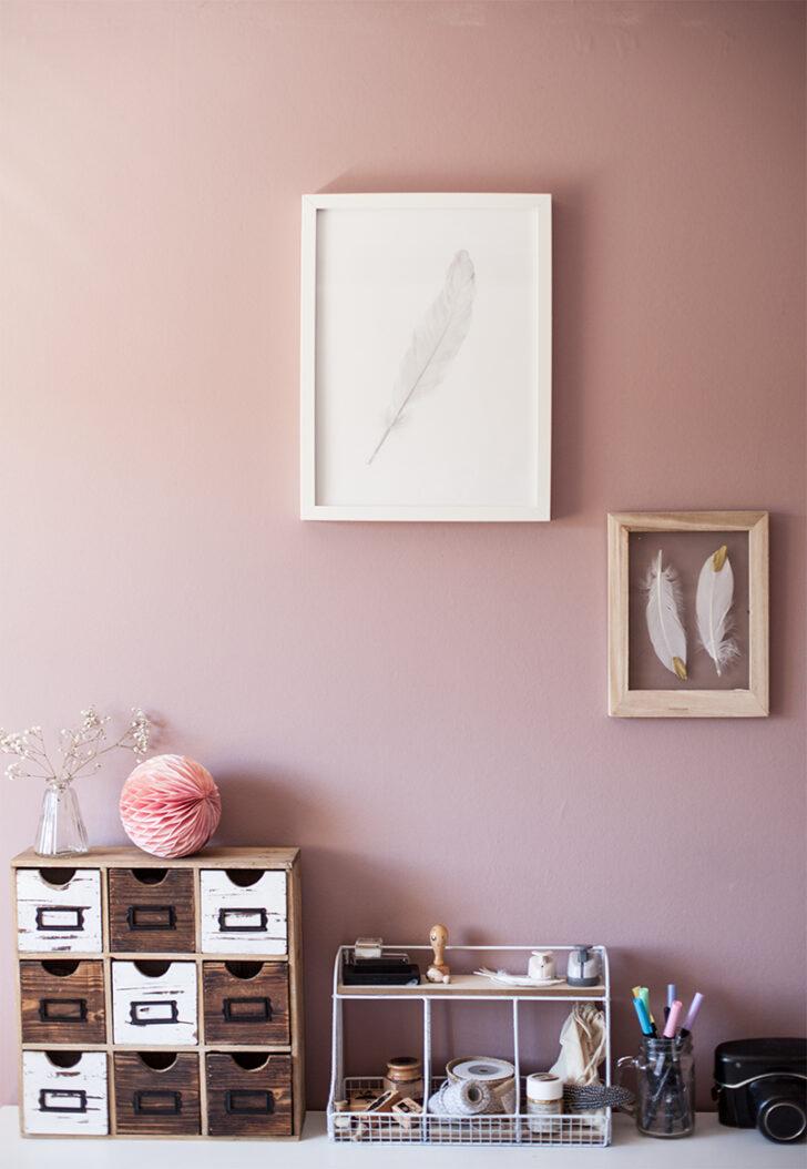 Medium Size of Wandfarbe Rosa Alpina Feine Farben Homeoffice Und Kreativraum Im Landhausstil Küche Wohnzimmer Wandfarbe Rosa