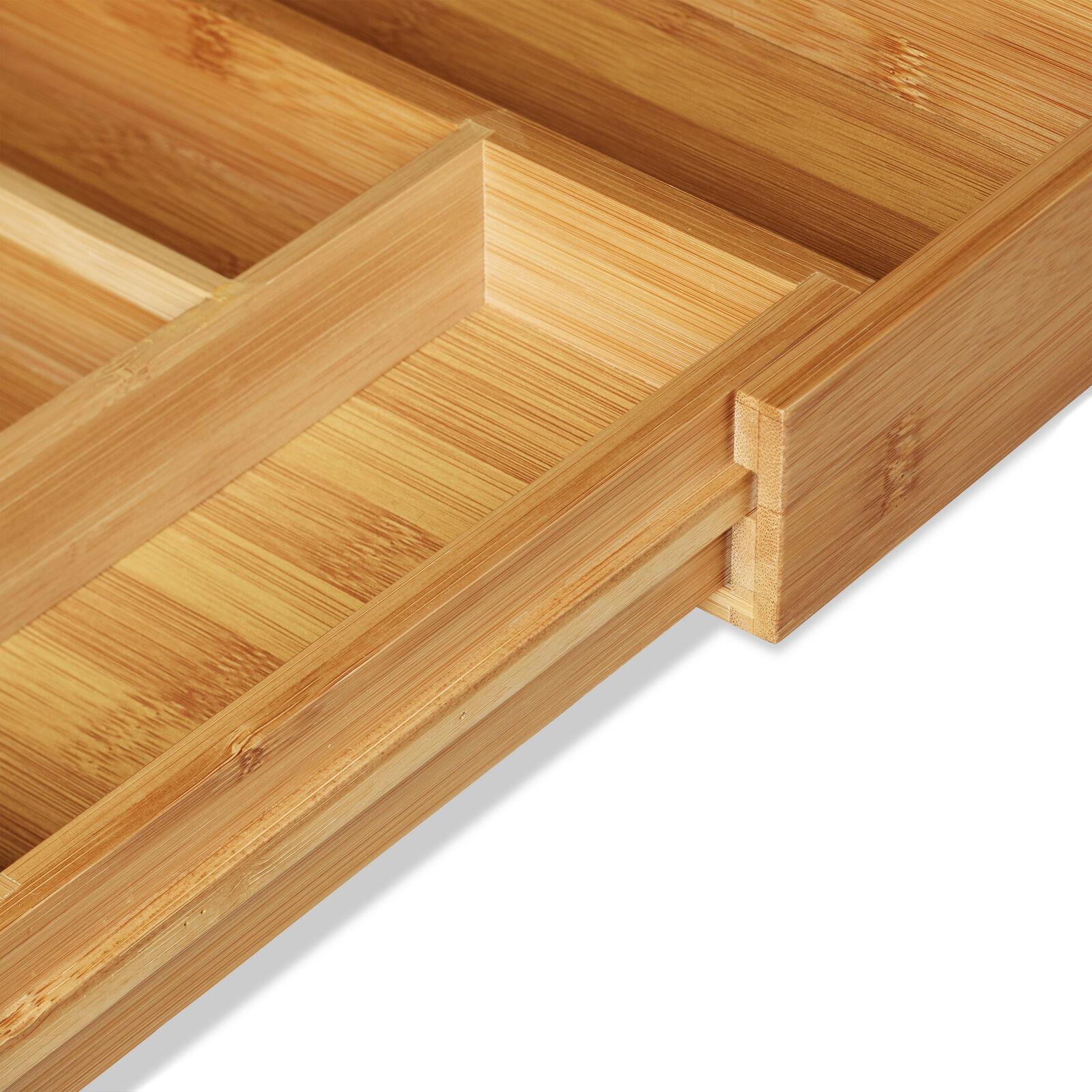 Full Size of Schubladeneinsatz Teller Relaxdays Besteckkasten Bambus Ausziehbarer Besteckeinsatz Als Küche Sofa Hersteller Wohnzimmer Schubladeneinsatz Teller