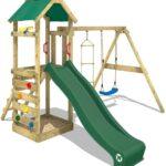 Spielturm Abverkauf Wickey Freeflyer Kletterturm Mit Rutsche Schaukel Bad Kinderspielturm Garten Inselküche Wohnzimmer Spielturm Abverkauf