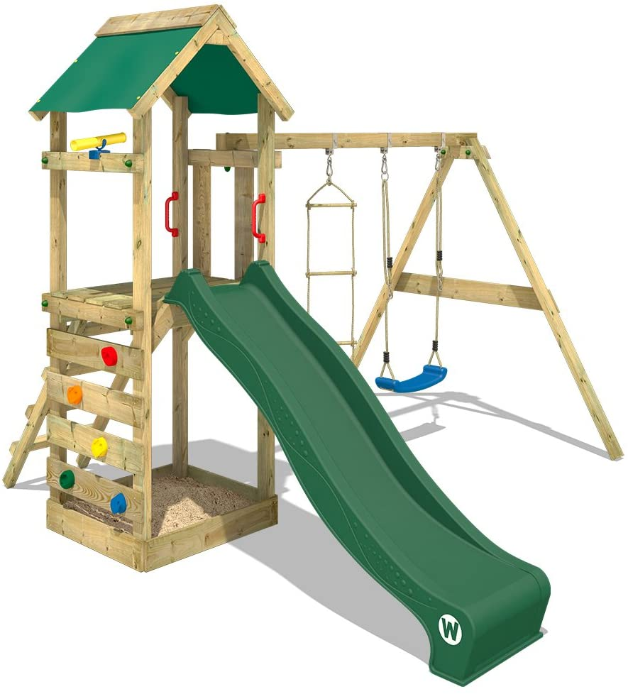 Full Size of Spielturm Abverkauf Wickey Freeflyer Kletterturm Mit Rutsche Schaukel Bad Kinderspielturm Garten Inselküche Wohnzimmer Spielturm Abverkauf