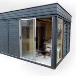 Gartensauna Bausatz Wohnzimmer Gartensauna Sauna Cube 4 3 M Breite Tiefe Aus Fichtenholz