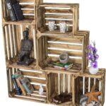 Laub7er Set Holzkisten Kisten In 2 Gren Wandregal Küche Landhaus Finanzieren Weisse Landhausküche Pino Modul Kaufen Ikea Bodenbelag Wanddeko Fliesen Für Wohnzimmer Kisten Küche