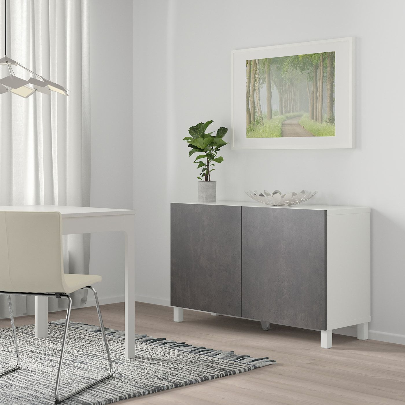 Full Size of Ikea Best Storage Combination With Doors White Kallviken Dark Glastrennwand Dusche Sofa Mit Schlaffunktion Miniküche Küche Kosten Trennwand Garten Kaufen Wohnzimmer Trennwand Ikea
