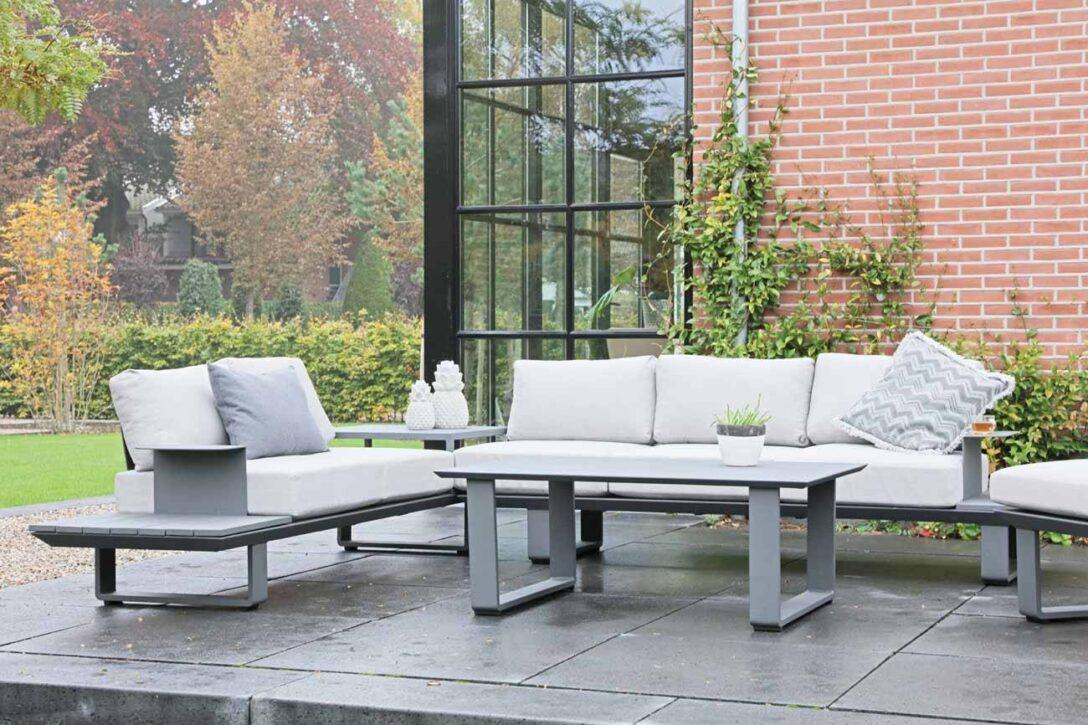 Large Size of Loungemöbel Alu Premium Loungembel Set 3 Teilig Anthrazit Creme Gnstig Aluminium Verbundplatte Küche Fenster Holz Preise Aluplast Garten Günstig Wohnzimmer Loungemöbel Alu