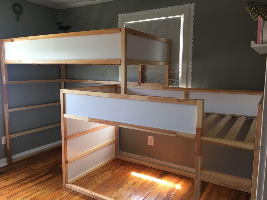 Large Size of Kura Hack Ikea Double Bed Bunk Instructions Storage Floor Montessori 2 Beds House Hacks Pinterest Triple Diy Wohnzimmer Kura Hack