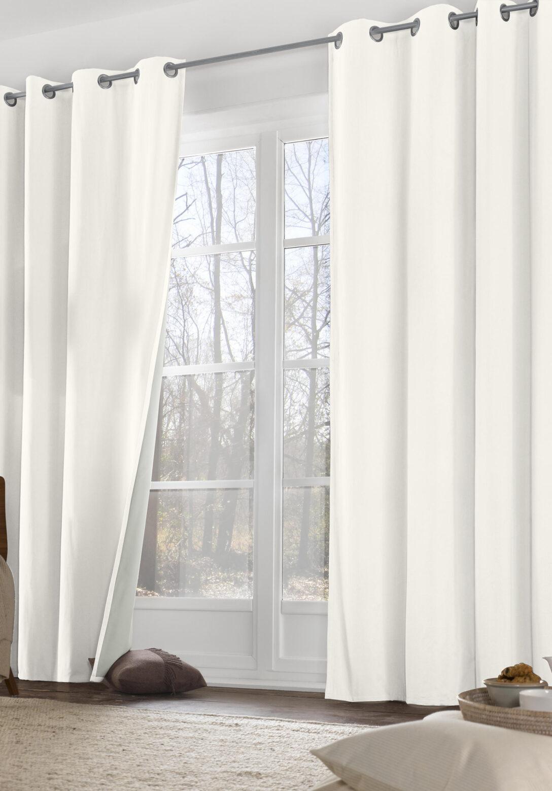 Large Size of Thermo Vorhang Neveres Mit Sen Aus Reiner Bio Baumwolle Vorhänge Küche Wohnzimmer Schlafzimmer Wohnzimmer Vorhänge