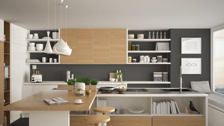 Medium Size of Weiße Küche Wandfarbe Graue Kchen Kchendesignmagazin Lassen Sie Sich Inspirieren Weißes Schlafzimmer Blende Betonoptik Unterschrank Wandsticker Grifflose Wohnzimmer Weiße Küche Wandfarbe