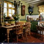 Landhausküche Tapete Wohnzimmer Kiefer Tisch Und Sthle Im Cottage Kche Mit Steinbruch Gefliesten Tapeten Schlafzimmer Für Die Küche Fototapete Fenster Wohnzimmer Tapete Landhausküche Grau