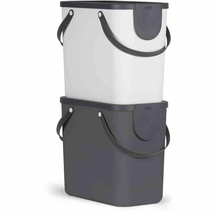 Medium Size of Recycling Mllsystem Albula 25l Anthrazit Mlleimer Abfallsammler Müllsystem Küche Wohnzimmer Müllsystem