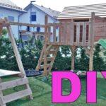 Klettergerüst Indoor Diy Spielturm Mit Rutsche Selber Bauen Der Hlt Alles Aus Youtube Garten Wohnzimmer Klettergerüst Indoor Diy