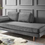 Recamiere Samt Wohnzimmer Recamiere Samt Grau Lehne Links Online Bei Roller Kaufen Sofa Mit