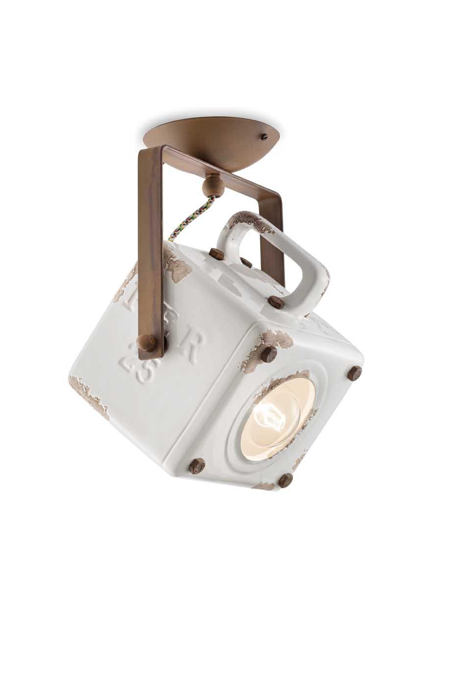 Full Size of Deckenlampe Industrial Ferroluce Deckenleuchte C1653vib Küche Esstisch Schlafzimmer Wohnzimmer Deckenlampen Bad Für Modern Wohnzimmer Deckenlampe Industrial