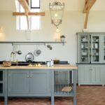 Landhausküche Wandfarbe Welche Zu Terracotta Fliesen Praktische Moderne Weisse Weiß Gebraucht Grau Wohnzimmer Landhausküche Wandfarbe