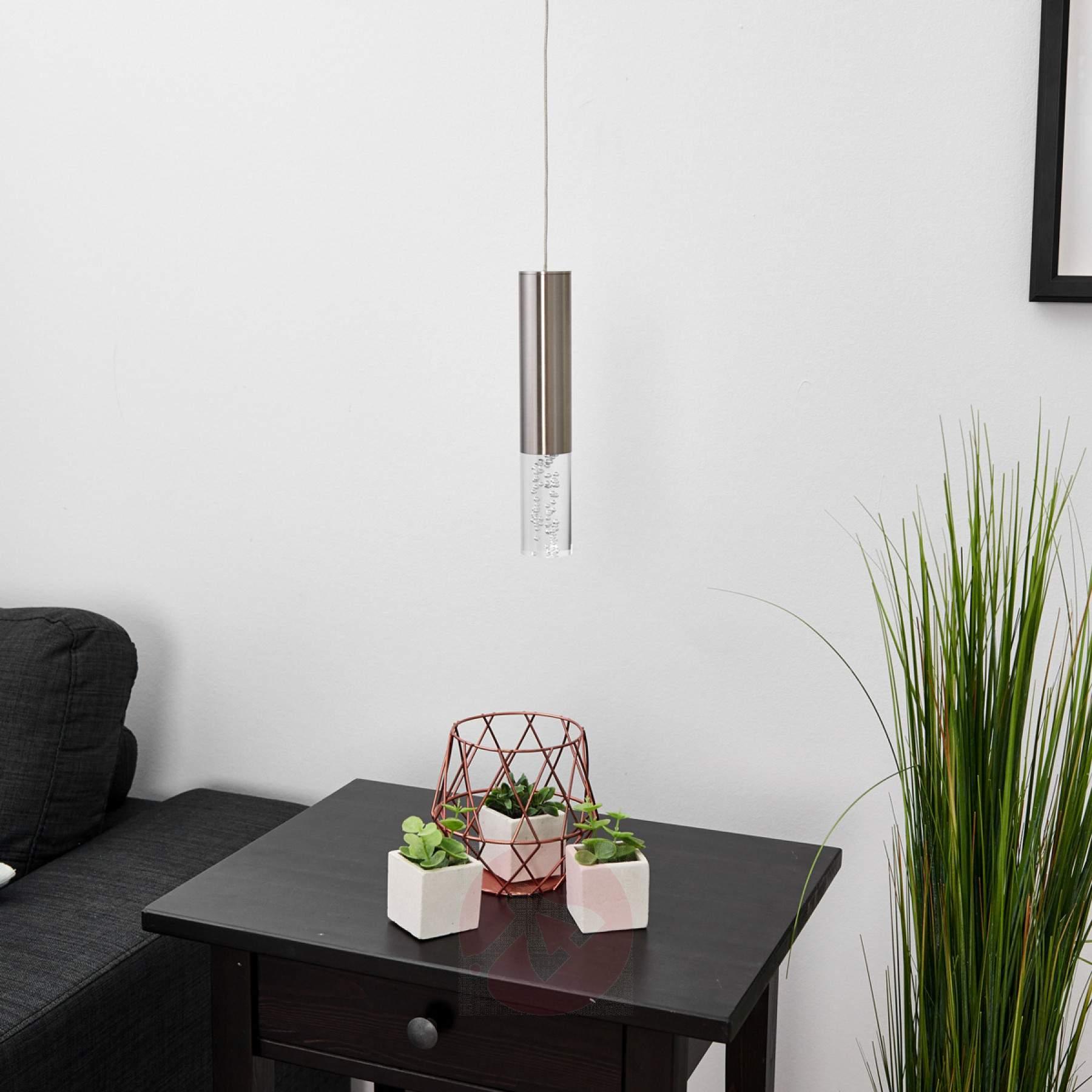 Full Size of Lampe über Kochinsel Led Pendelleuchte Bubble 1 Flg Kaufen Lampenweltde Deckenlampe Esstisch Wohnzimmer Lampen Deckenlampen Modern überwurf Sofa Stehlampe Wohnzimmer Lampe über Kochinsel