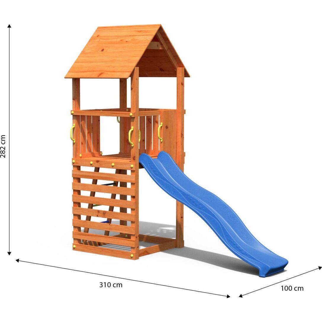 Large Size of Dobar Spielturm Bento Mit Blauer Rutsche Kaufen Bei Obi Einbauküche Nobilia Mobile Küche Garten Kinderspielturm Fenster Immobilien Bad Homburg Wohnzimmer Spielturm Obi