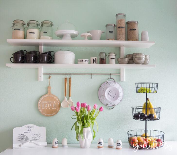 Ein Neues Kchenregal Und Das Drama Um Wandfarbe Mint Schreinerküche Küche Kaufen Günstig Lampen Amazon Regale Mit Elektrogeräten Schrankküche Schreibtisch Wohnzimmer Ikea Küche Regal