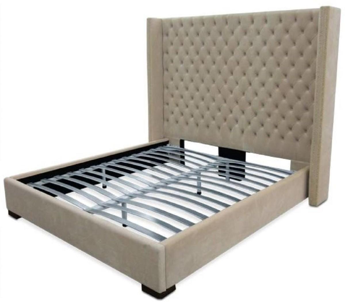 Full Size of Boxspringbett 200x200 Beige Samt 180x200 Sofa Schlafzimmer Set Mit Wohnzimmer Boxspringbett Beige Samt