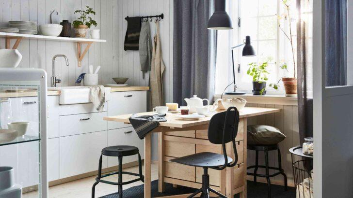 Medium Size of Single Küchen Ikea Kleine Kche 7 Tipps Fr Mehr Stauraum In Einer Minikche Sofa Mit Schlaffunktion Modulküche Betten Bei Singleküche E Geräten Küche Wohnzimmer Single Küchen Ikea