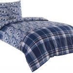 Bettwäsche 155x220 Bettwsche 80x80 Cm Baumwolle Renforce Blau Braun Sprüche Wohnzimmer Bettwäsche 155x220