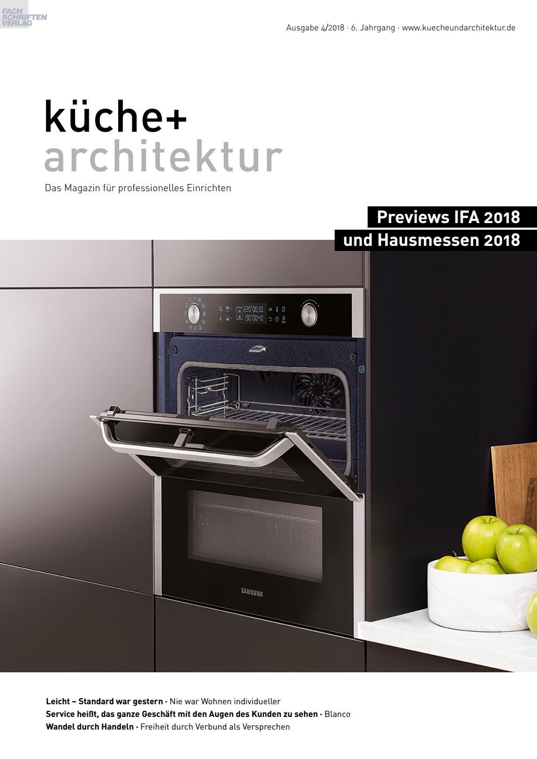 Full Size of Walden Küchen Abverkauf Kche Architektur 4 2018 By Fachschriften Verlag Bad Inselküche Regal Wohnzimmer Walden Küchen Abverkauf