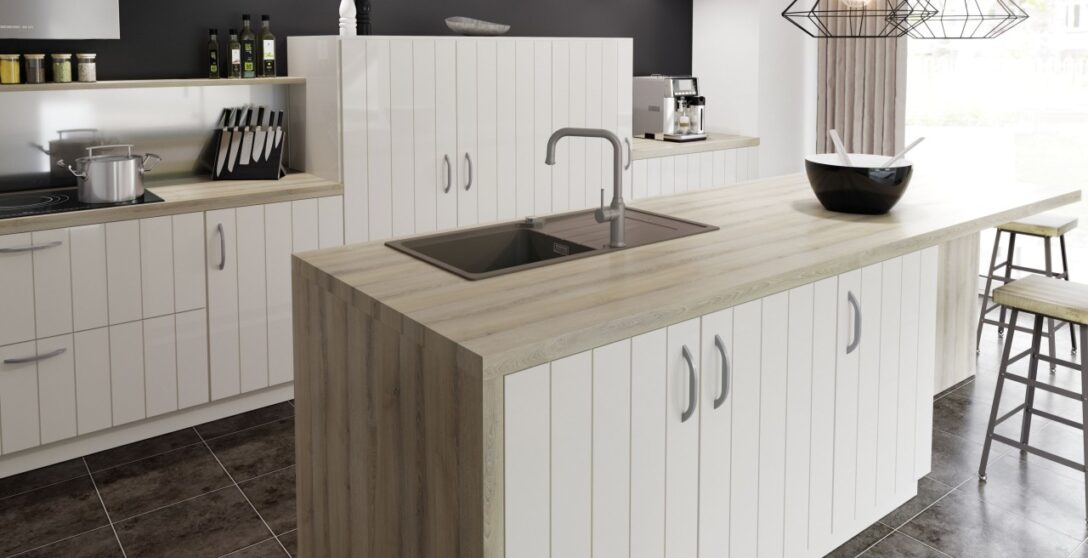 Large Size of Freistehende Küchen Kcheninsel Mit Sple Perfekte Arbeitsstation Blanco Regal Küche Wohnzimmer Freistehende Küchen