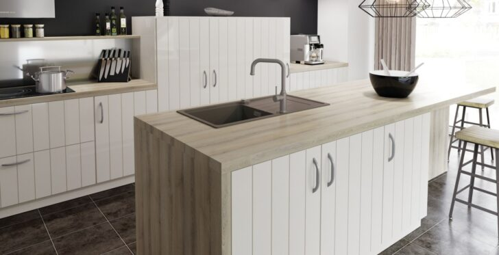 Medium Size of Freistehende Küchen Kcheninsel Mit Sple Perfekte Arbeitsstation Blanco Regal Küche Wohnzimmer Freistehende Küchen