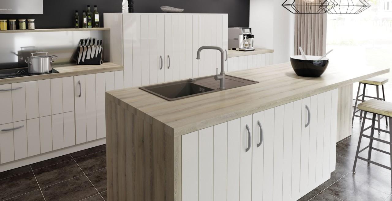 Full Size of Freistehende Küchen Kcheninsel Mit Sple Perfekte Arbeitsstation Blanco Regal Küche Wohnzimmer Freistehende Küchen