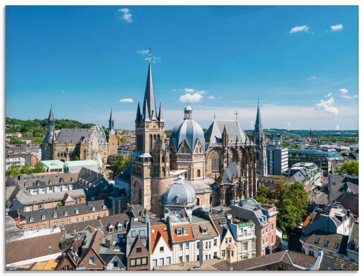 Medium Size of Küchen Glasbilder David Engel Aachen Skyline Glasbild Artgalerie Bildershop Regal Bad Küche Wohnzimmer Küchen Glasbilder