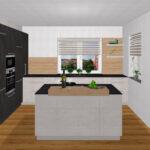 Freistehende Küchen Freistehender Mlleimer Kche Waschmaschine In Regal Küche Wohnzimmer Freistehende Küchen
