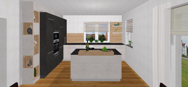 Medium Size of Freistehende Küchen Freistehender Mlleimer Kche Waschmaschine In Regal Küche Wohnzimmer Freistehende Küchen