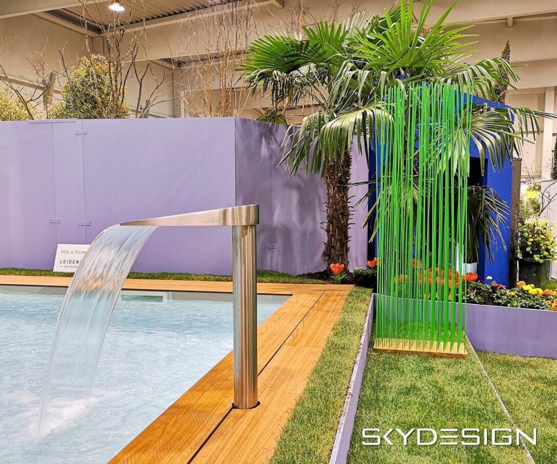 Large Size of Sichtschutz Bambus Fr Den Pool Und Garten Bett Paravent Wohnzimmer Paravent Bambus Balkon