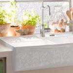 Splsteine Keramik Waschbecken Küche Wohnzimmer Spülstein Keramik