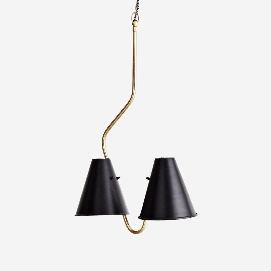 Large Size of Deckenlampe Skandinavisch Mit 2 Schirmen Aus Eisen Wohnen Schlafzimmer Esstisch Wohnzimmer Deckenlampen Für Modern Bett Küche Bad Wohnzimmer Deckenlampe Skandinavisch