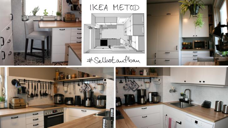 Medium Size of Ikea Selbstaufbau In Unpraktisch Geschnittener Plattenbaukche Fenster Online Konfigurator Spiegelschrank Bad Mit Beleuchtung Und Steckdose Hotel Undine Wohnzimmer Ikea Küchen U Form