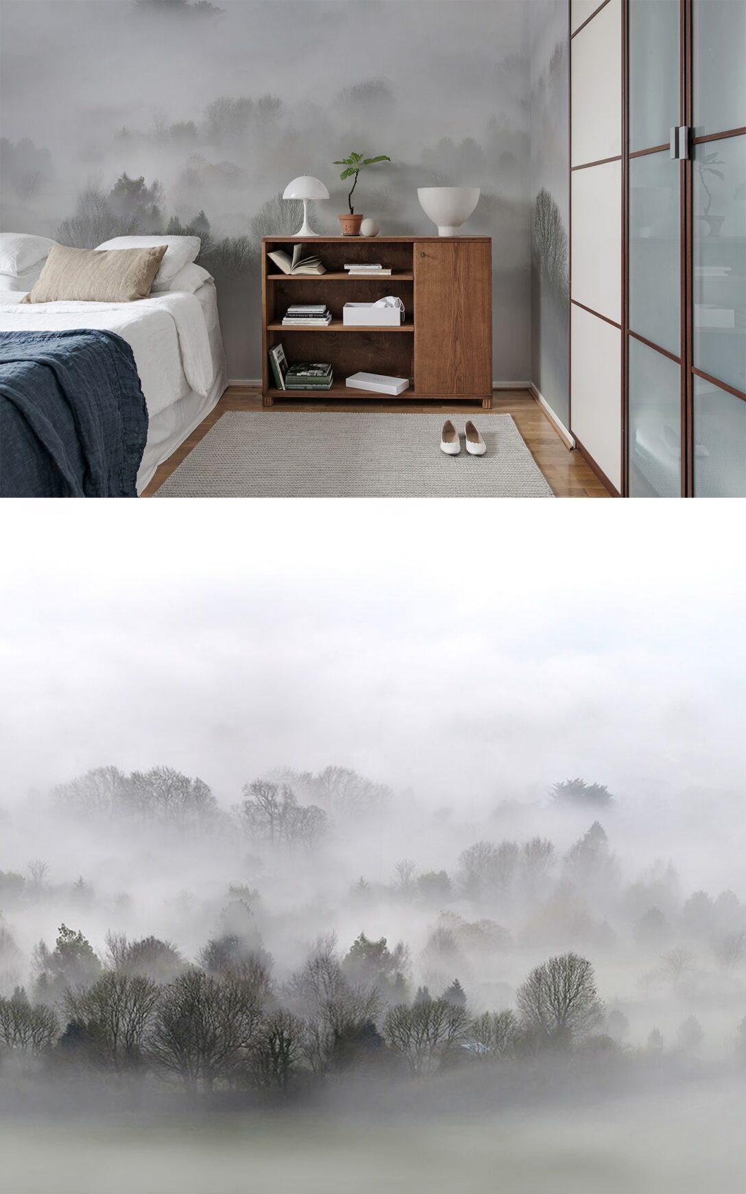 Large Size of Schlafzimmer Tapeten 2020 Morning Fog In Wohnzimmer Komplettangebote Deckenlampe Set Weiß Vorhänge Loddenkemper Sitzbank Gardinen Für Die Küche Günstig Wohnzimmer Schlafzimmer Tapeten 2020