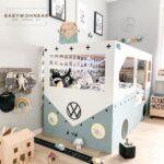 Ikea Kura Hack Floor Bed Storage Drawers House Slide Montessori Hacks Pinterest Bunk Das Busbett Wohnzimmer Kura Hack