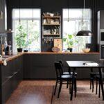 Kungsbacka Anthrazit Wohnzimmer Oteven Pro Jednoduch Ivot Kche Einrichten Fenster Anthrazit Küche
