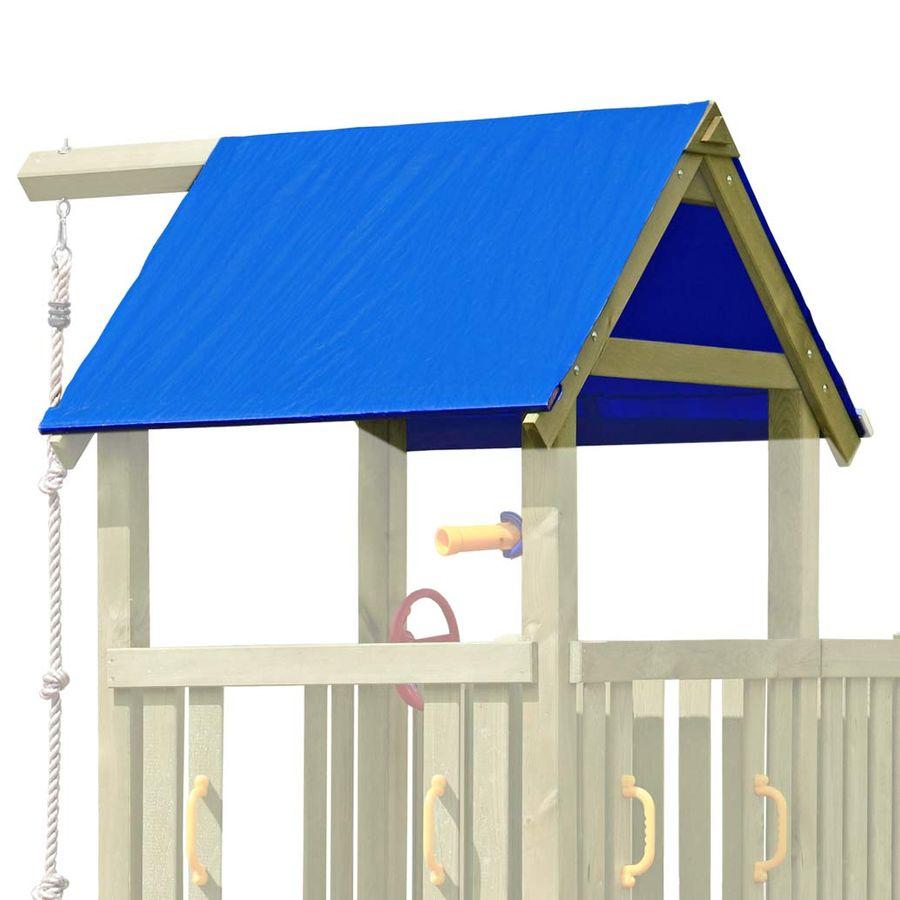 Full Size of Dachplane Blau Ersatzplane Fr Premium Spielturm Aus Kleines Sofa Regal Mit Schubladen Kleiner Esstisch Weiß Wohnzimmer Badezimmer Neu Gestalten Kleine Küche Wohnzimmer Spielturm Klein