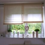 Thumbnail Size of Raffrollo Küchenfenster Küche Wohnzimmer Raffrollo Küchenfenster