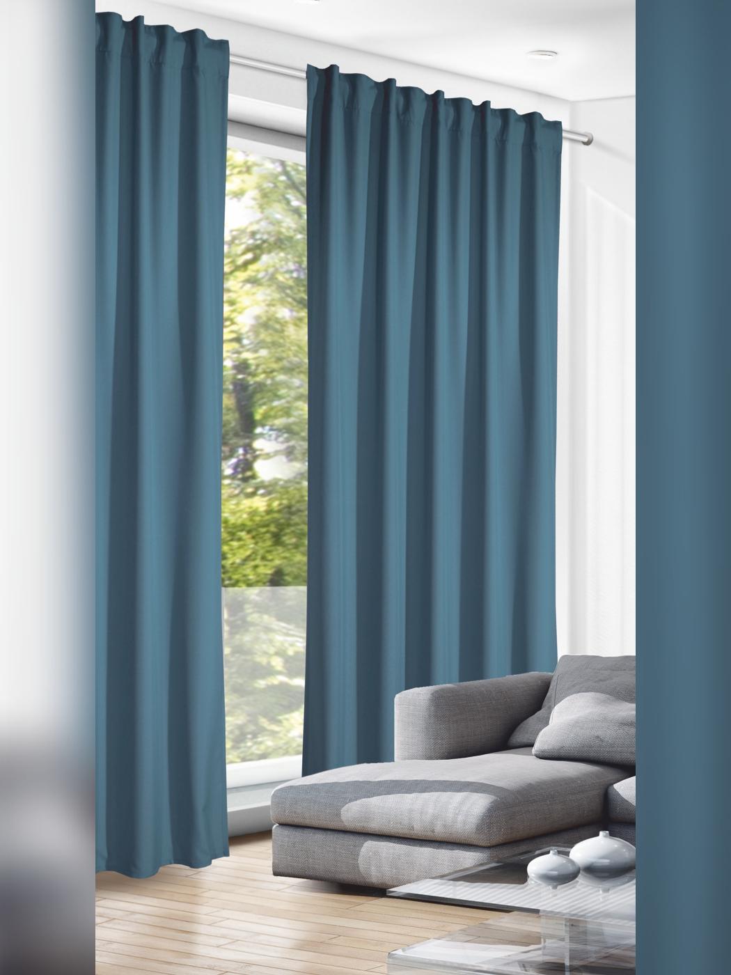 Full Size of Gardinen Vorhang Blickdicht Blau Mittelblau Scheibengardinen Küche Schlafzimmer Für Wohnzimmer Die Fenster Wohnzimmer Blickdichte Gardinen