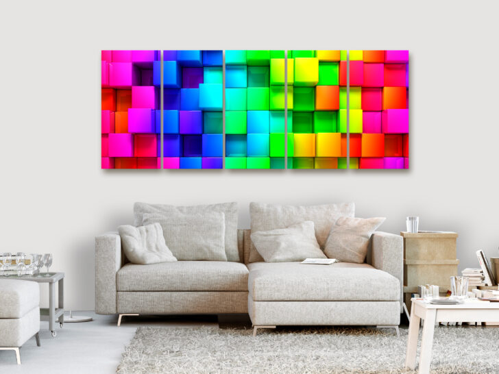 Medium Size of Wandbilder Wohnzimmer Modern Xxl Bunt Abstrakte Leinwand Bilder A 0316 Led Deckenleuchte Komplett Sessel Teppich Gardinen Für Relaxliege Deko Wandbild Wohnzimmer Wandbilder Wohnzimmer Modern Xxl