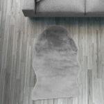 Fell Lufer Teppich Grau 55x80 Cm Sofa Stuhl Matte Hasenfell Wohnzimmer Teppiche Home Affaire Bett Big Affair Wohnzimmer Home 24 Teppiche