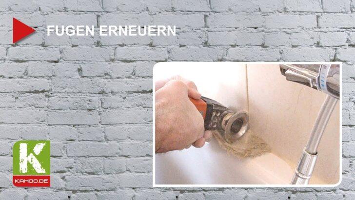 Medium Size of Fugen Erneuern Anschaulich Erklrt Youtube Bad Fenster Kosten Wohnzimmer Fensterfugen Erneuern