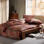 Bettwäsche 155x220 Mako Satin Bettwsche Paisley Orientalisch Rot Von Sprüche Wohnzimmer Bettwäsche 155x220