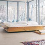 Bett Design Holz Schlicht Massivholz Betten Doppelbett Aus Fensterfront Teppich Be Modernes Luxus Designer Esstische Stauraum Funktions 140 Weiß 90x200 Wohnzimmer Bett Design Holz