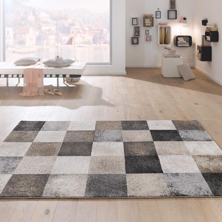 Medium Size of Designer Teppich Von Kibek Cube In Grau Küche Hochglanz Sofa Stoff Graues Regal Esstisch Wohnzimmer Schlafzimmer Weiß Bett Landhausküche 2er 3 Sitzer Xxl Wohnzimmer Teppich Grau Beige