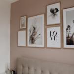 Bedroom Gallery Wall Galeriewand Schlafzimmer Fototapete Komplett Massivholz Günstige Weißes Weiss Betten Wandtattoo Günstig Eckschrank Sessel Mit überbau Wohnzimmer Altrosa Schlafzimmer