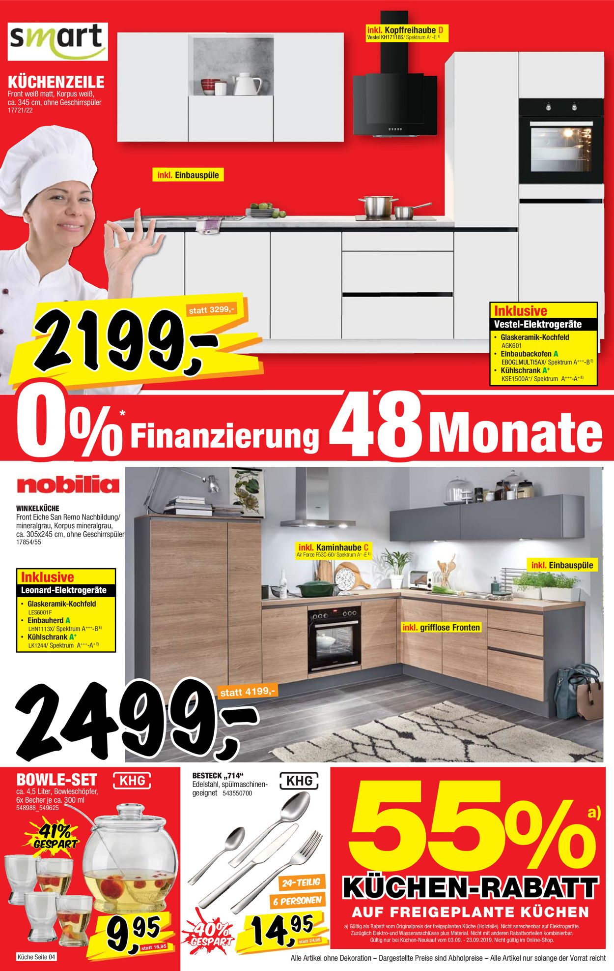 Full Size of Sconto Aktueller Prospekt 0309 23092019 16 Jedewoche Küchen Regal Wohnzimmer Sconto Küchen